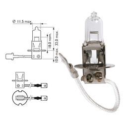 Žarnica 12v h3 55w pk22s - osram