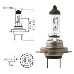 Žarnica 12v h7 55w px26d - lucas