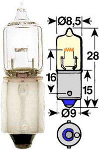 Žarnica 12v 10w ba 9s - trifa