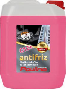 paulina antifriz g12+ koncentrat roza 5l