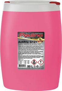 paulina antifriz g12+ koncentrat roza 50l