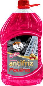 paulina antifriz g12+ koncentrat roza 3l pet