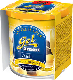 areon osvezilec za avto gel vanilla