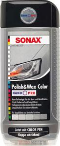 sonax barvna politura+vosek nanopro srebrna 500ml
