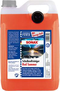 sonax letno čistilo za vetrobransko steklo red summer 5l