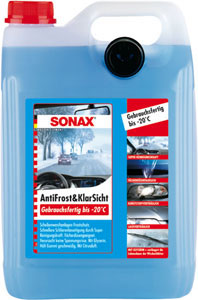 sonax tekočina za vetrobransko steklo -20 5l